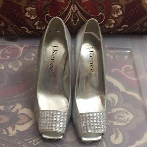 J. Renee high heel open toes